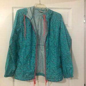 Women's Columbia Rain Coat, Size Small